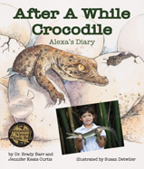 As a school project, Alexa raises an American Crocodile named Jefe. Alexa brings him chicken and frogs to eat, and measures his growth. Soon he will be big enough to return to the wild.