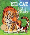 Tiger lives in the jungle but Tiggy lives on the porch.  What are the differences between the largest wild cats and our small domestic companions? What are the similarities? Children will learn about a new big cat and little kitty each day of the week in BIG CAT, Little Kitty. Written by Scotti Cohn, Illustrated by Susan Detwiler.