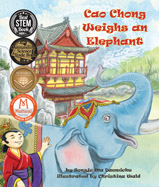 How did one weigh an elephant 