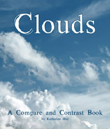 The atmosphere is filled with clouds, 