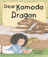When Leslie and a Komodo dragon 