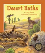 All animals bathe to keep their bodies clean and healthy. Humans might use soap and water, but what do animals, especially those living in dry climates, do to keep clean? Explore the desert to find out how snakes, spiders, and birds bathe. This surprising book teaches children about hygiene and how some exciting desert creatures manage to stay clea