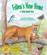 cover art for 'Felina's New Home' courtesy of Sylvan Dell Publishing