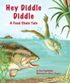 """Hey Diddle Diddle"" is a whimsical journey along a riparian food web through the songs and antics of eight interconnected species. From a shiny green beetle ""tappin' his feet and singin' a song"" to a smug bobcat that feels like the ""queen"" of the jungle, readers will observe several colorful characters moving through three food chains in a familiar North American habitat. By Pam Kapchinske. Illustrated by Sherry Rogers."