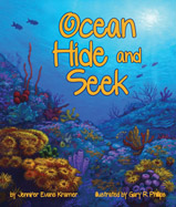 Hidden in forests of kelp, tucked under 