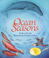 Seasons change in the ocean much 