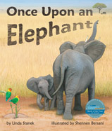 Imagine an African savanna if elephants