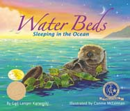 This soothing bedtime story explains in simple, poetic language how ten different marine mammals—animals that live in water but breathe air—sleep in the ocean.