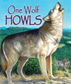Rhythmic text takes readers through the months as one lonely wolf howling in January becomes three wolves barking in the crisp March air, six napping in the warm June weather, and a pack-wide celebration in December.