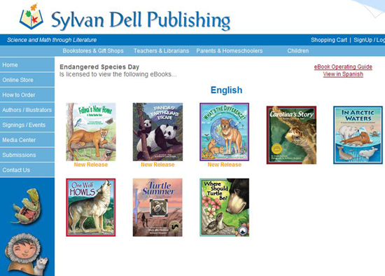 Click here to access the endangered species eBooks! Hope you enjoy!