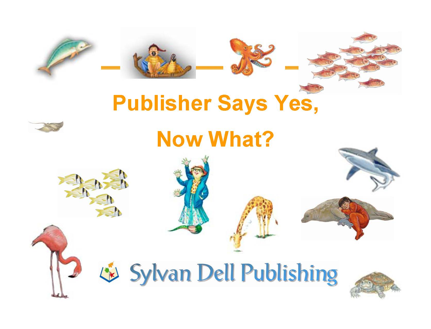 Publisher Said yes, Now What?